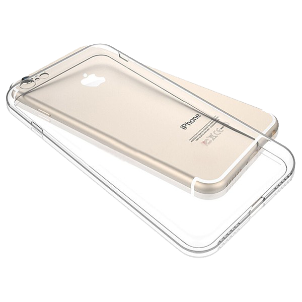 Silikonový kryt pro Apple iPhone 6/6S průhledný