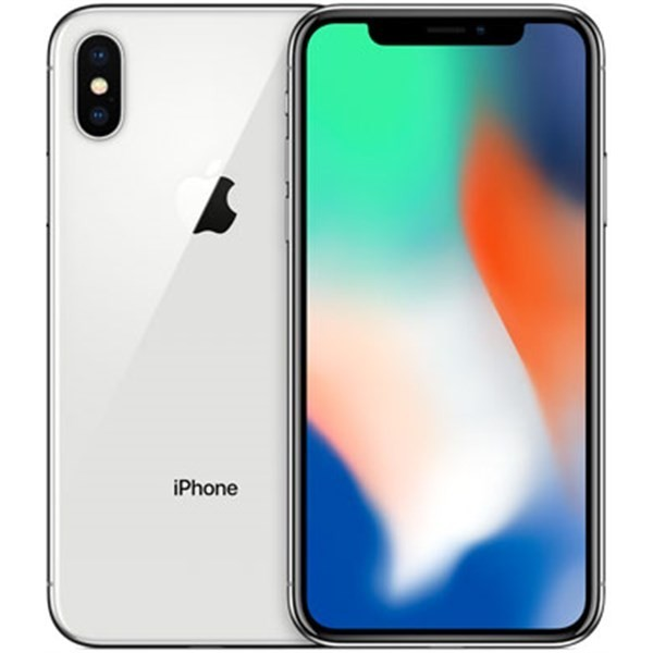Apple iPhone X 64GB stříbrný - Kategorie A