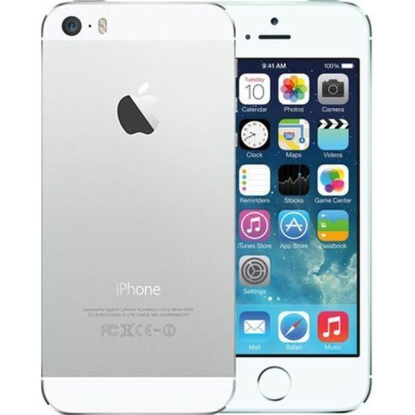 Apple iPhone 5S 16GB Silver - Kategorie C
